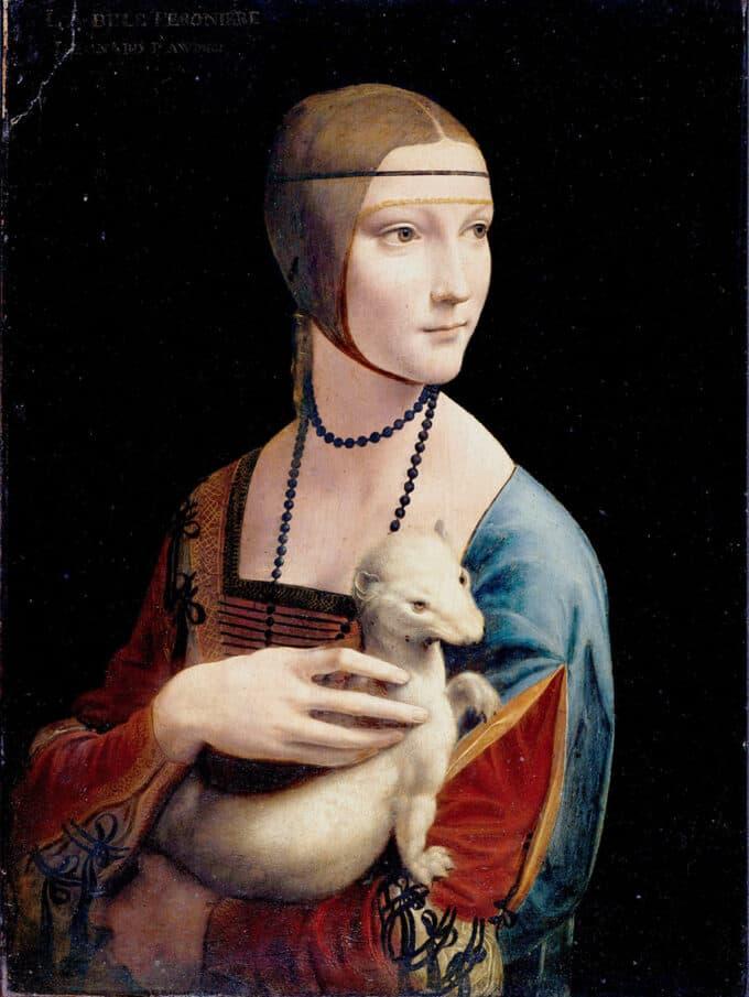 بانویی-با-قاقم---لئوناردو-داوینچی