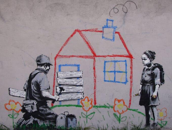 خانه-کودکانه---بنکسی