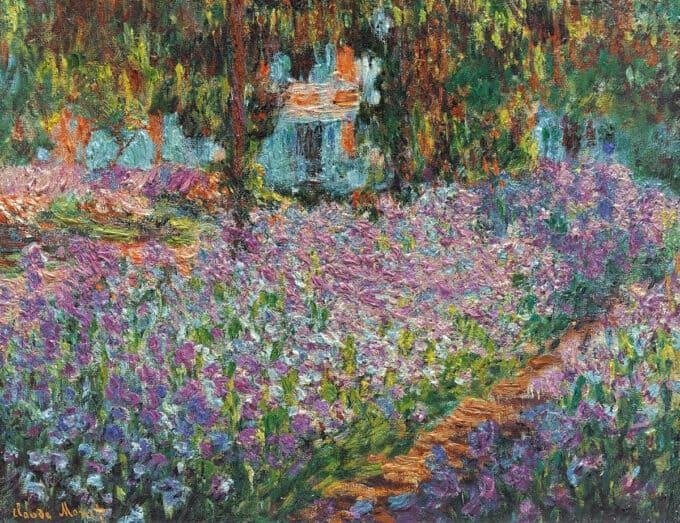 زنبق-ها-در-باغ-مونه---کلود-مونه