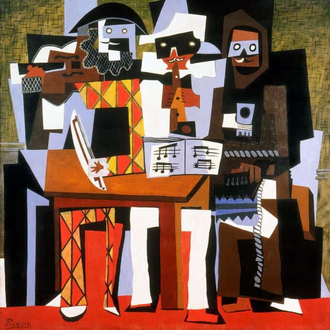 سه-موسیقیدان---پابلو-پیکاسو