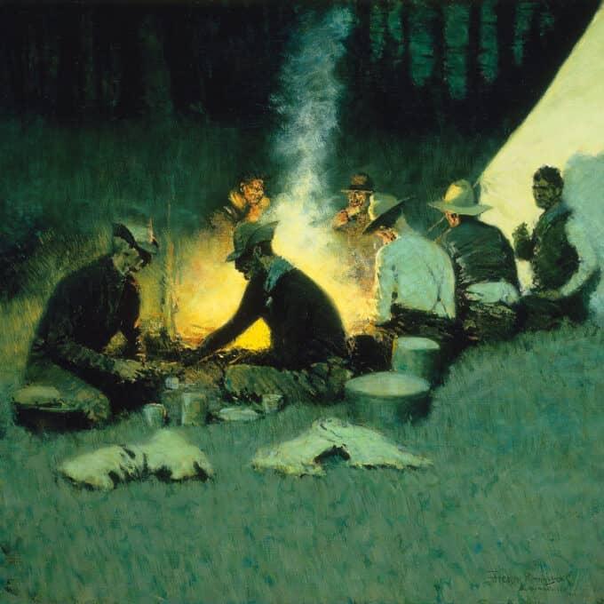 شام-شکارچی-ها---فردریک-رمینگتون