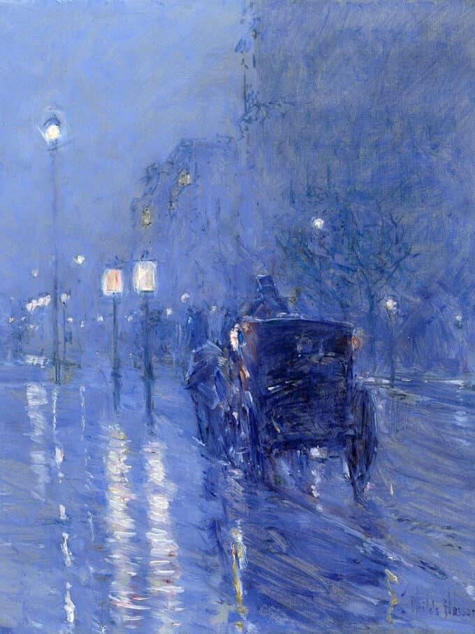 نیمه-شب-بارانی---چایلد-هسام