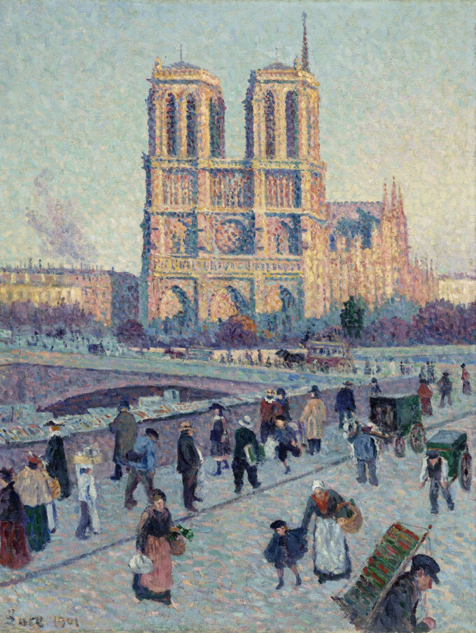کلیسای-نتردام-پاریس---ماکسیمیلین-لوس