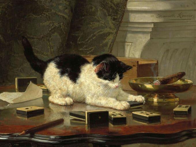 بازی-بچه-گربه---هنریت-رونر کنیپ