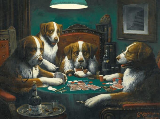 بازی-پوکر---کاسیوس-کولیج