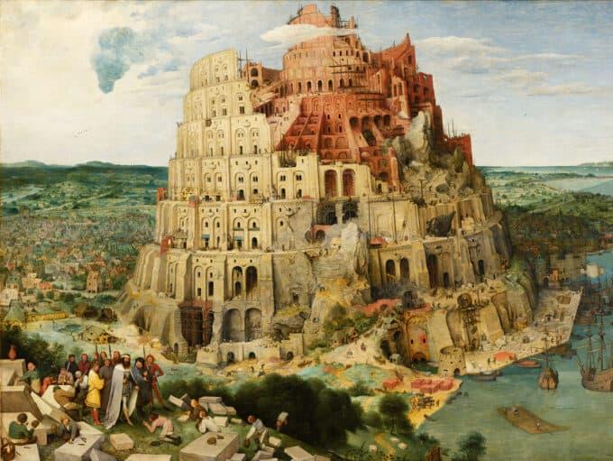 برج-بابل---پیتر-بروگل