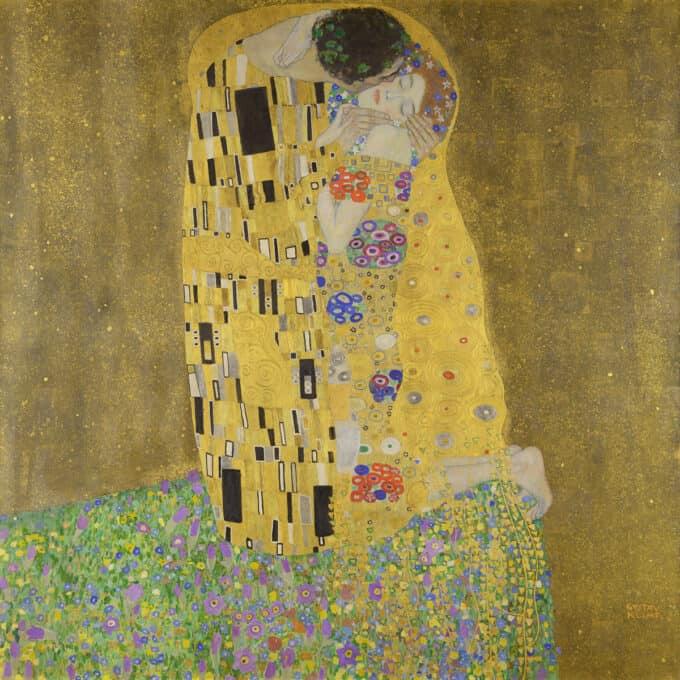 بوسه---گوستاو-کلیمت