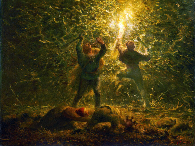 شکار-پرنده-ها-در-شب---ژان-فرانسوا-میله