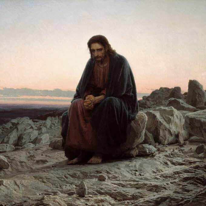 مسیح-در-بیابان---ایوان-کرامسکوی