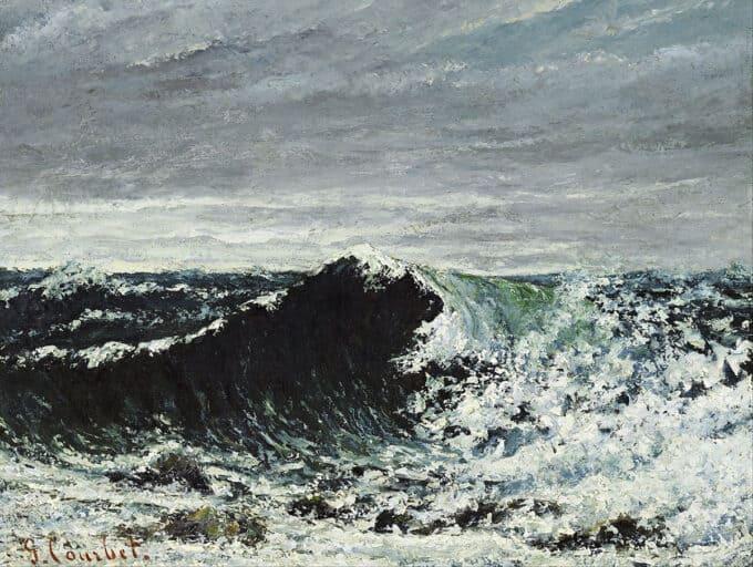 موج---گوستاو-کوربه