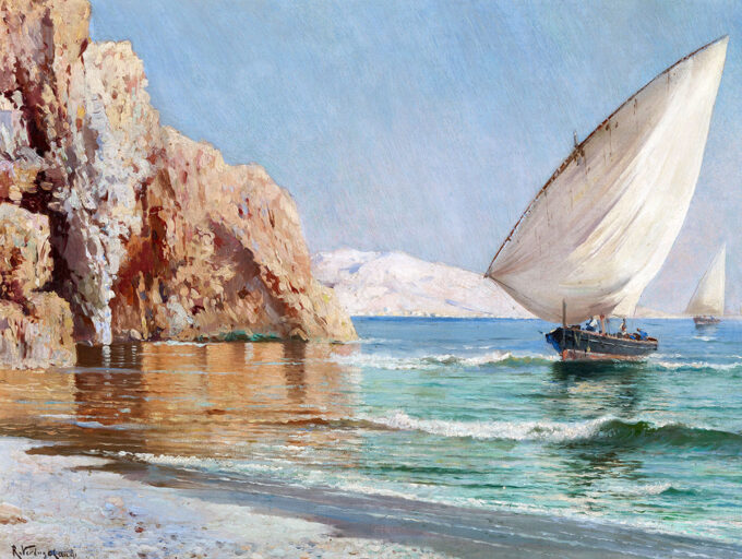 ورود-قایق-ها---ریکاردو-وردوگو-لندی