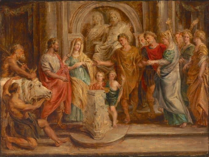 ازدواج-کنستانتین---پیتر-پل-روبنس