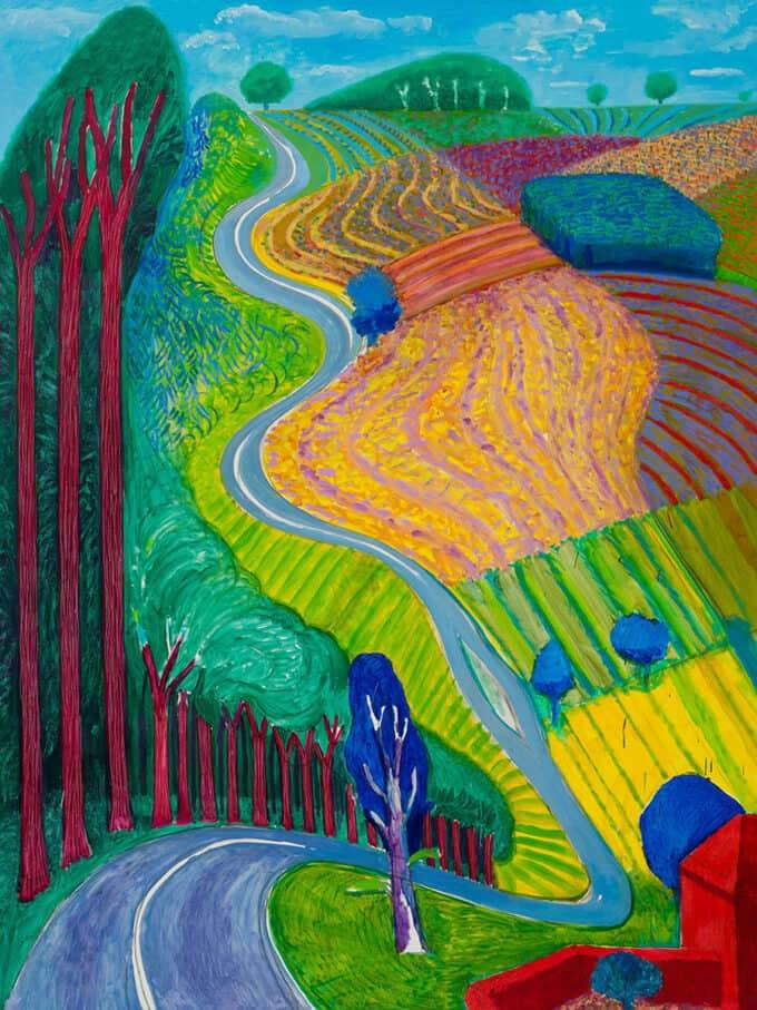 بالا-رفتن-از-تپه-گاروبی---دیوید-هاکنی