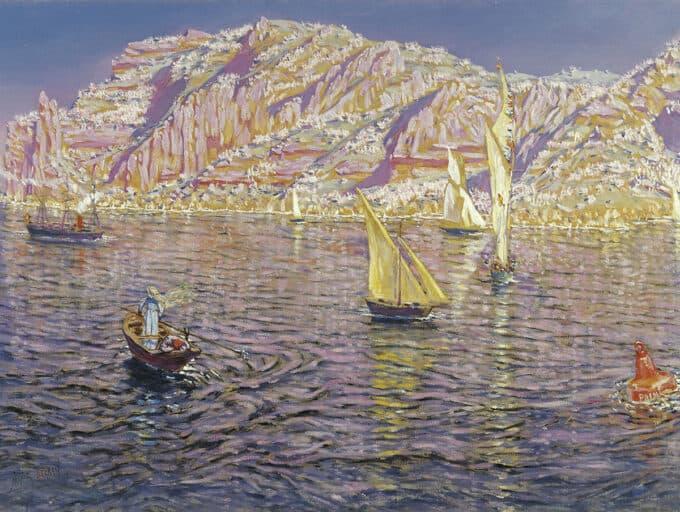 خلیج-دپالما-در-مایورکا---آنتونیو-مونیوز-دگرین