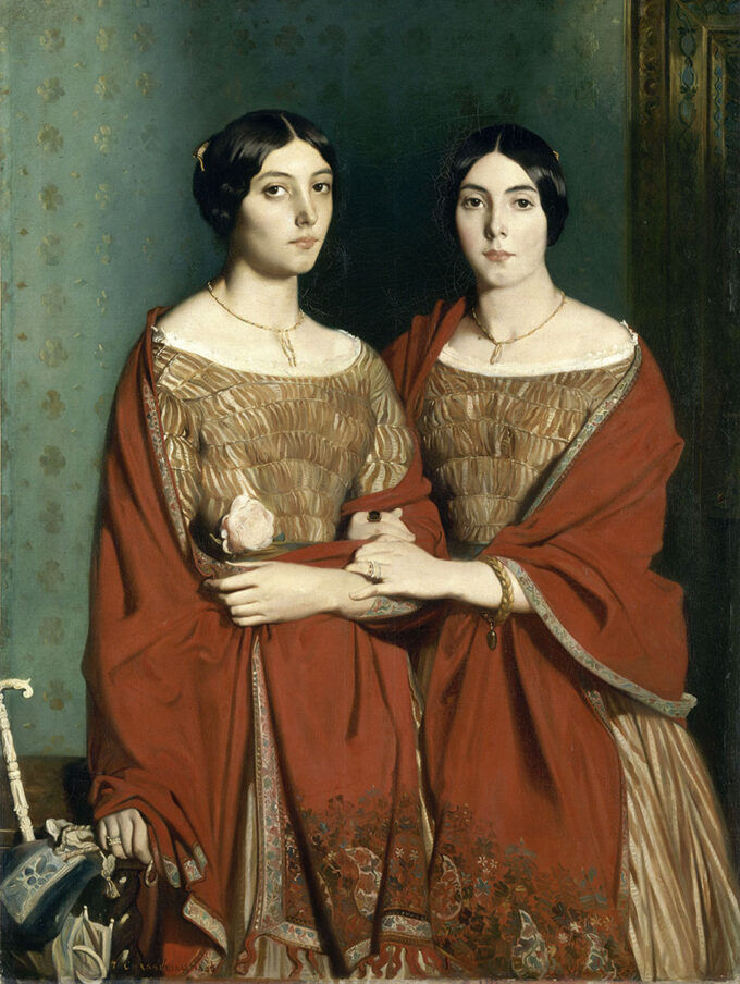 دو-خواهر---تئودور-شاسریو