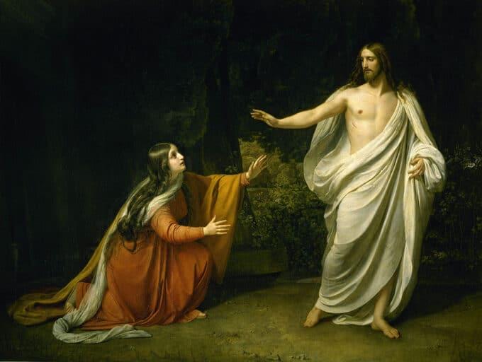 ظهور-مسیح-بر-مریم-مجدلیه-پس-از-رستاخیز---الکساندر-ایوانف