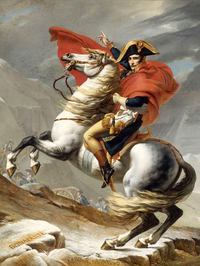 ناپلئون-در-حال-عبور-از-آلپ---ژاک-لویی-داوید