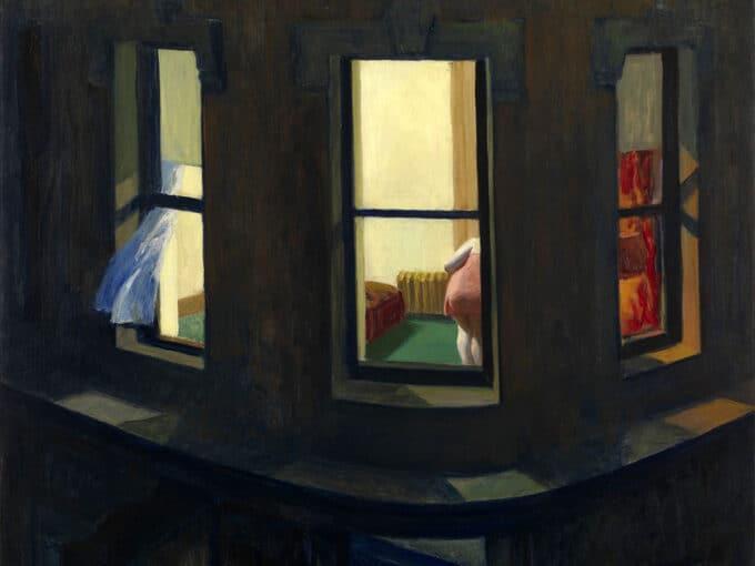 پنجره-های-شب---ادوارد-هاپر