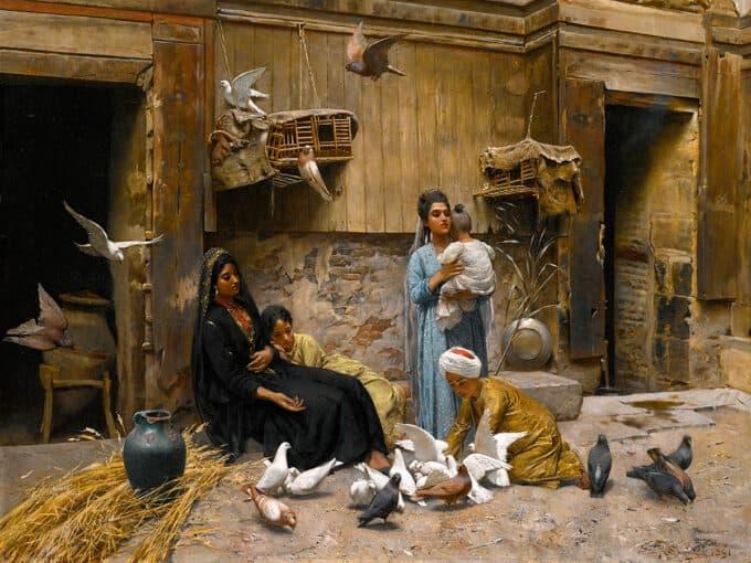 یک-حیاط-در-قاهره---رودلف-اسووبودا