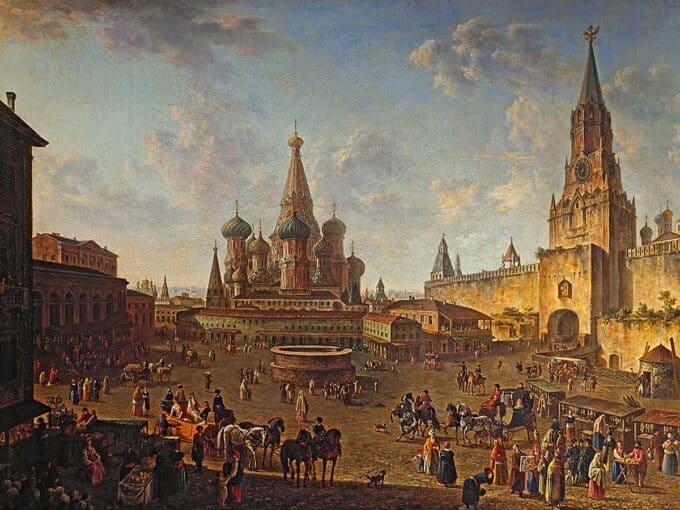 میدان-سرخ-مسکو---فئودور-آلکسیف