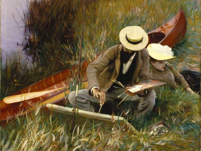 نقاشی-در-طبیعت---جان-سینگر-سارجنت