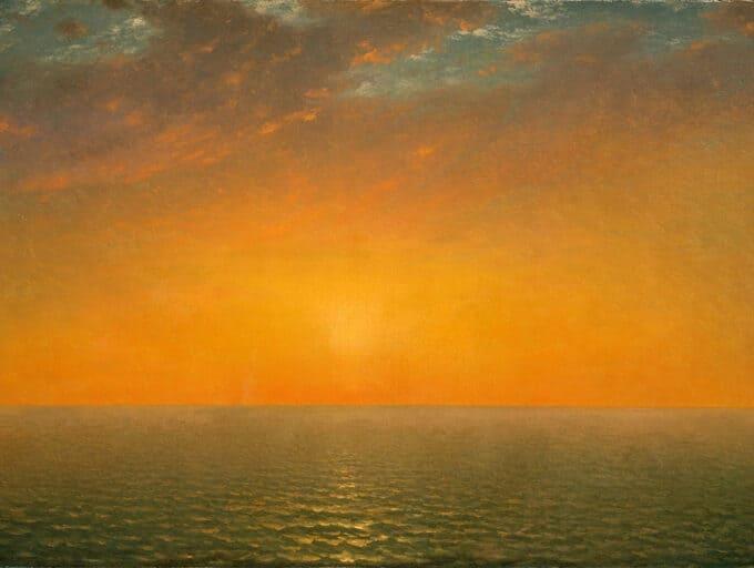 غروب-خورشید---جان-فردریک-کنست