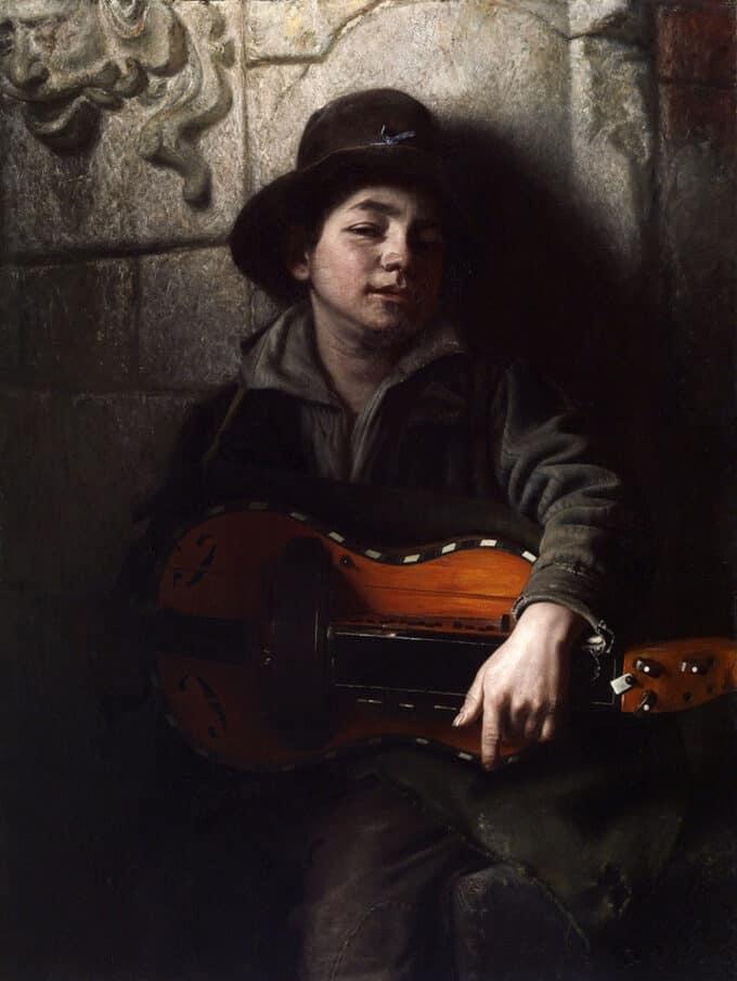پسر-ایتالیایی-با-ساز-هاردی-گاردی---ریچارد-کاتون-وودویل