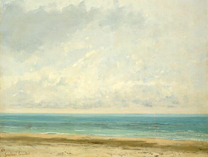 آرامش-دریا-–-گوستاو-کوربه