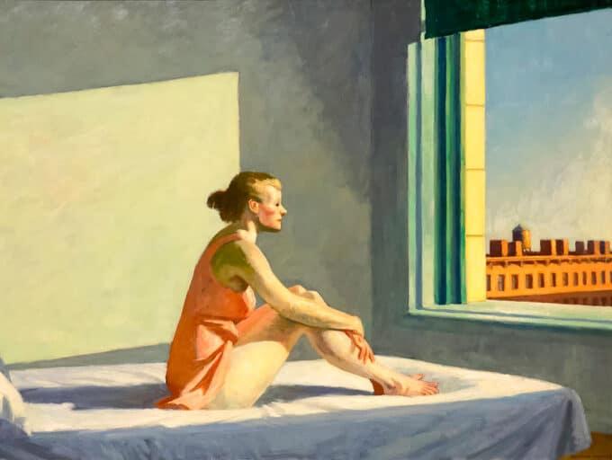 خورشید-صبح---ادوارد-هاپر
