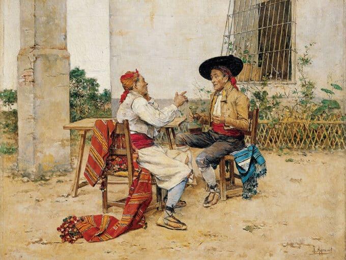 دو-مرد-والنسیایی---خواکین-آراگوست
