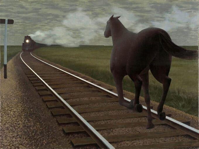 قطار-و-اسب---آلکس-کولویل