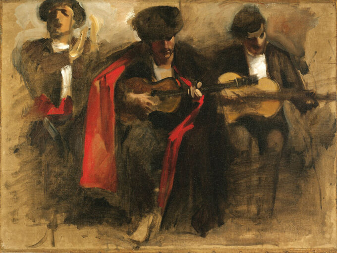 نوازندگان-نشسته---جان-سینگر-سارجنت