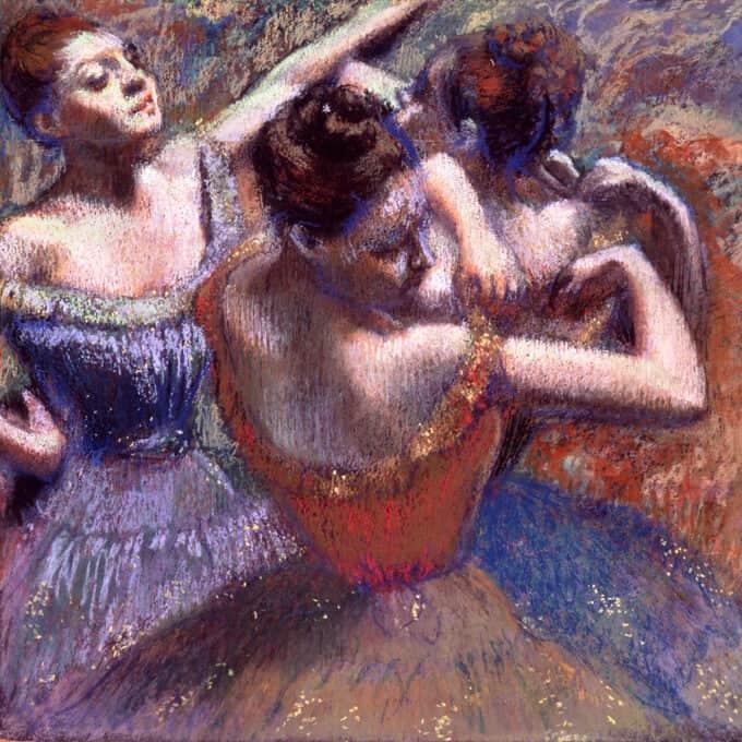 رقاص-ها---ادگار-دگا