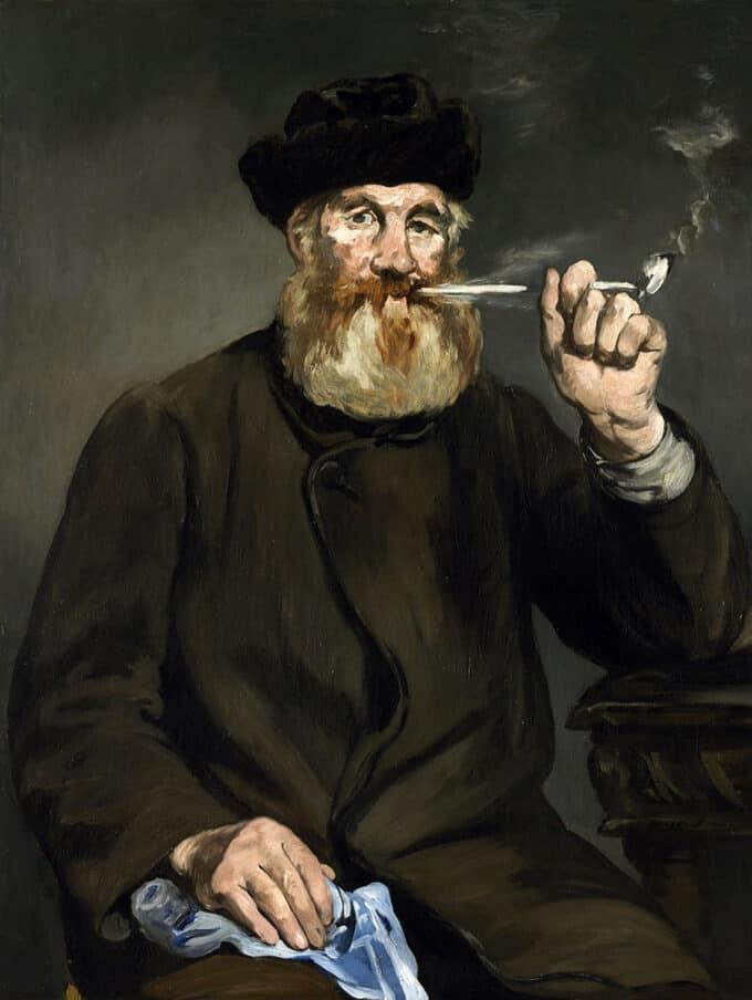 سیگاری---ادوار-مانه