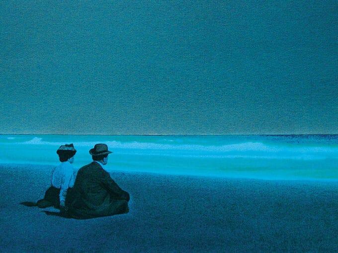 دو-دوست-در-ساحل-لانگ-آیلند---دیوین-لئوناردی