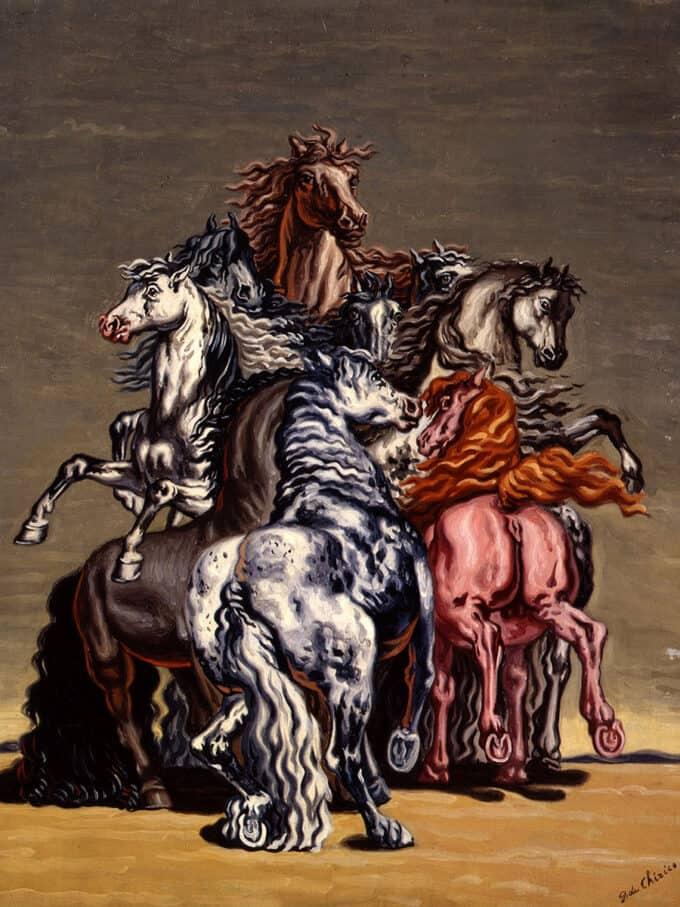 اسب-های-وحشی-–-جورجو-دکیریکو