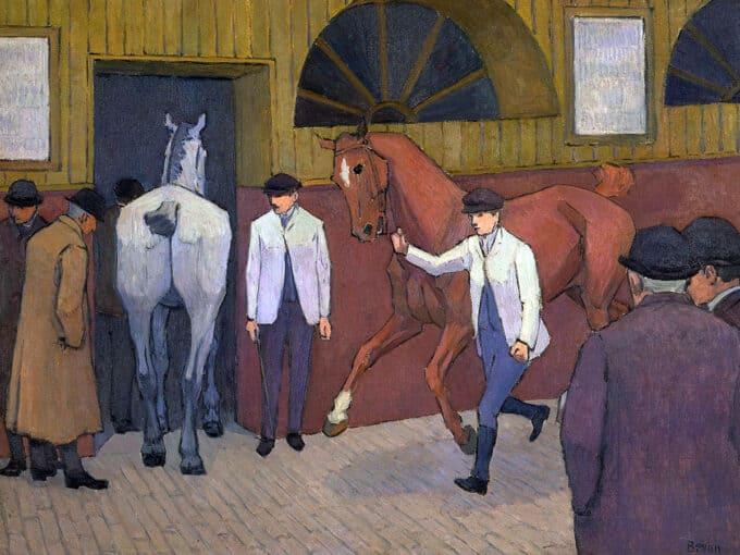 بازار-اسب---رابرت-بیوان
