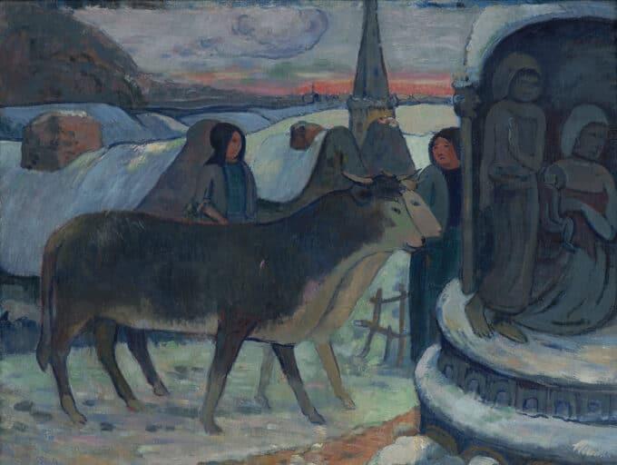 برکت-دادن-گاوها---پل-گوگن